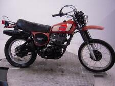 1977 Yamaha XT500D Unregistered US Import Barn Find Classic Restoration Project