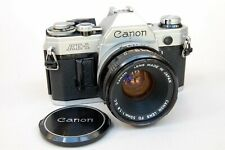 Canon AE-1 35mm SLR Camera with Canon FD 50mm f1.8 Lens