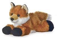 """Aurora Foxxie RED FOX  8"""" Flopsie Plush Floppy Stuffed Animal NEW"""