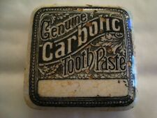 Genuine Carbolic Tooth Paste Square Pot Lid  19/84