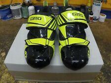 New Black Yellow Giro Mele Tri triathlon shoes size EUR // 39 US 6.5