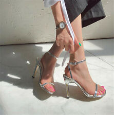 Fashion Women's Ankle Strap Stieltto High Heels Open Toe Shoes Party Sandals