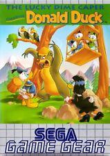 SEGA Game Gear Spiel - Donald Duck: Lucky Dime Caper Modul