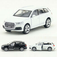 1:36 Audi Q7 SUV Model Car Metal Diecast Toy Vehicle Kids Pull Back Collection