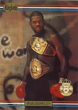 "IRAN ""The Blade"" BARKLEY - Boxing Trading Card - 1991 Ringlords"