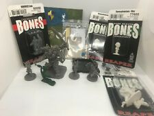 Fantasy Miniatures Lot of 10 packs Player Characters monster  NPC's  Great Gift