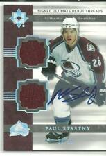 2006/7 ULTIMATE PAUL STASTNY AUTO 2 ROOKIE JERSEY 30/35