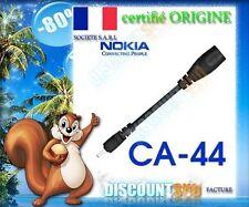 ADAPTATEUR CHARGEUR ORIGINE CA-44 NOKIA 1209 1616 1650
