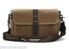 ONA The Bowery Canvas (Ranger Tan)Camera Bag - Handcrafted Premium Bag