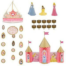 DISNEY PRINCESS PARTY 15 PC DECORATION SET NEW IN BOX