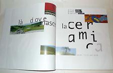 Lucas/Prodi,LÀ DOVE NASCE LA CERAMICA,1996 Modena[Sassuolo,piastrelle,tiles