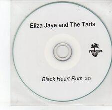 (EG930) Eliza Jaye & The Tarts, Black Heart Rum - DJ CD