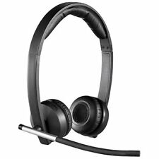 Logitech Wireless Headset H820e - Stereo - Usb - Wireless - Dect - 328.1 Ft -