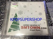 SMTOWN Winter Vacation in SMtown.com Angel Eyes CD Great Cond. Shinhwa BoA Rare