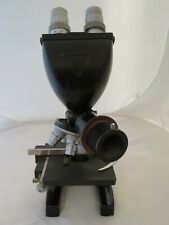 Bausch Amp Lomb Stereo Microscope With 4 Objectives
