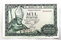 Spain- Estado Español. Billete. 1000 Pesetas. 1965. Madrid. SC/UNC. Perfecto