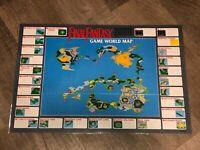 Final Fantasy World Map + Monster Chart Nintendo Nes Laminated Authentic