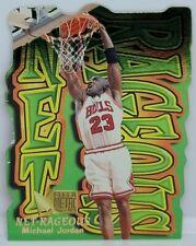 Michael Jordan 1996-97 Fleer Metal Net-Rageous Die-Cut #5 NM-MT Condition Rare