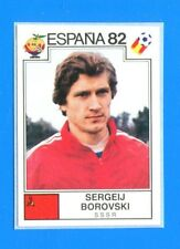 SPAGNA ESPANA '82 -Panini-Figurina-Sticker n. 389 - BOROVSKI -SSSR-Rec