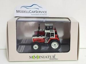 Mo-Miniatur 1/87: 20846 Tractor Steyr 8110 Turbo, with Front Weight