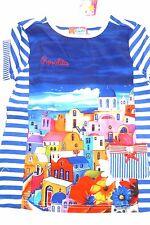 SO 17 Rosalita SENORITAS Camiseta De Chica, azul Spitz Talla gr.128-140