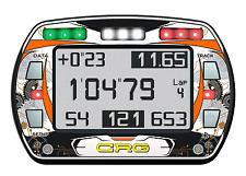 CRG Stile Gel Sticker Per Alfano PRO III EVO LAP TIMER-Kart