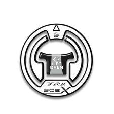 ADESIVO 3D PROTEZIONE TAPPO COMPATIBILE CON BENELLI TRK 502X - BIANCO