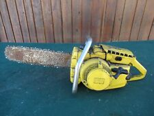 """Vintage McCULLOCH 1-42 Chainsaw Chain Saw with 16"""" Bar"""