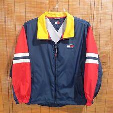 Mens  Classic Tommy Hilfiger Windbreaker Jacket XL