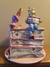 Bluesky Clayworks Tea Light 39 Again Birthday Cake By Heather Goldminc