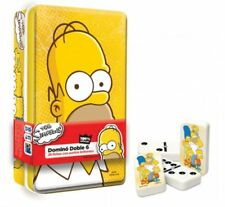 COLLECTIBLE THE SIMPSONS® DOMINOES SET IN A TIN CASE, FROM MEXICO.