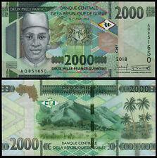 GUINEA 2000 FRANCS (P NEW) 2018 (2019) UNC