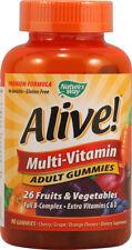 Alive! Adult Multi-Vitamin Gummies, Nature's Way, 90 piece