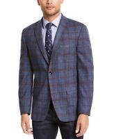 Tommy Hilfiger Men's Plaid Sport Coat, Modern-Fit, Flex Stretch, Size 38R, NwT