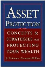 Asset Protection : Concepts and Strategies for Protecting Your Wealth, Hardco...