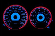 Subaru Impreza 1996-2000 design 2 glow gauges dials plasma dials kit tacho glow