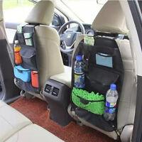1X Universal Multi-Pocket Holder Car Back Seat Tidy Organiser Pouch Storage Bag