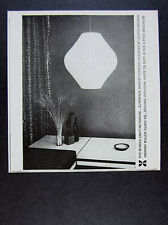 1959 George Nelson Bubble Lighting Fixture Howard Miller vintage print Ad