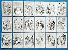 NEW Set of 18 Mini Postcards Illustrations from Pride and Prejudice Jane Austen