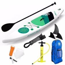 """GREAT SUP Inflatable 12'7'' Explorer Stand Up Paddle Board (6"""" Thick)"""