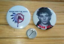 ADAM AND THE ANTS / ADAM ANT - 2 x LARGE 58mm BADGES  SET # 1 * NEW *