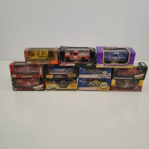 Lot Of 11 Racing Collectibles Stock Car Limited Edition Nascar Diecast 1/64 Vtg