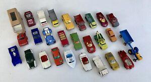 Matchbox Lesney Hotwheels Siku Konvolut Alte Modellautos Spielzeugautos