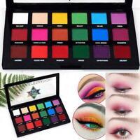 18Color Fine Dust Glitter Eye Shadow Palette Beauty Makeup Pigmente Matte U8I1