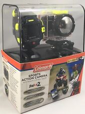 Coleman Sports Action Camera 1080 p Lens with Wi-Fi and Watch Remote Control