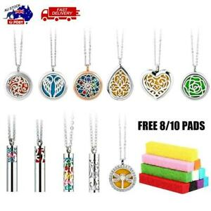 Aromatherapy Pendants Necklace Perfume Fragrance Essential Oil Diffuser  Locket