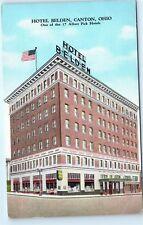 1939 Hotel Belden Albert Pick Hotel Canton Ohio Vintage Postcard A81