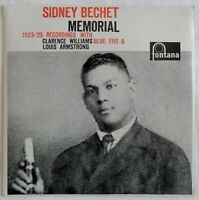 9848) LP - Sidney Bechet Memorial - Williams - Armstrong - fontana -
