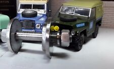 Landrover Serie 1 2 2a 3 LWB 109 Hard Top Acero Perno de montaje Etc 338740 x2