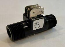 Gems Sensors Ft-110, P/N 173934 Turbine Flow Rate Sensor, 4 Gpm Max